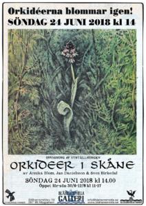 Orkidéer i Skåne Invigning sön 24/6 kl 14